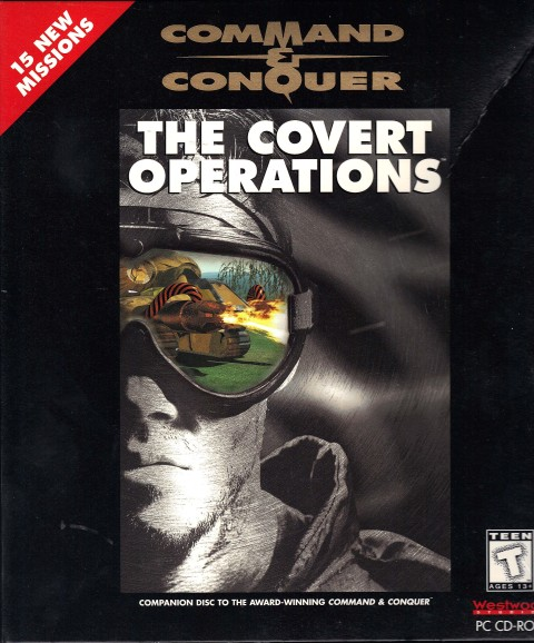 Command and Conquer: The Covert Missions (Cover)