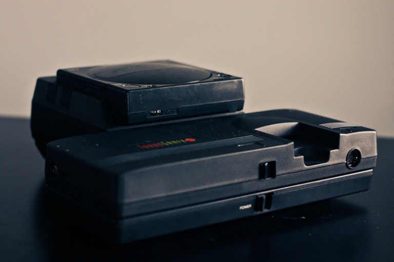 Turbografx 16 with CD
