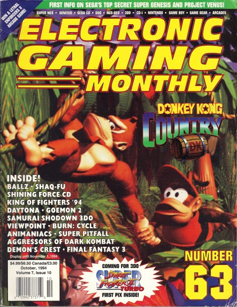 EGM – October 1994