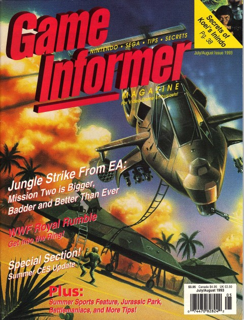 Game Informer – July.August 1993