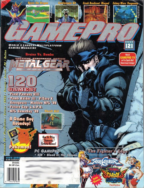 Gamepro – Issue 121