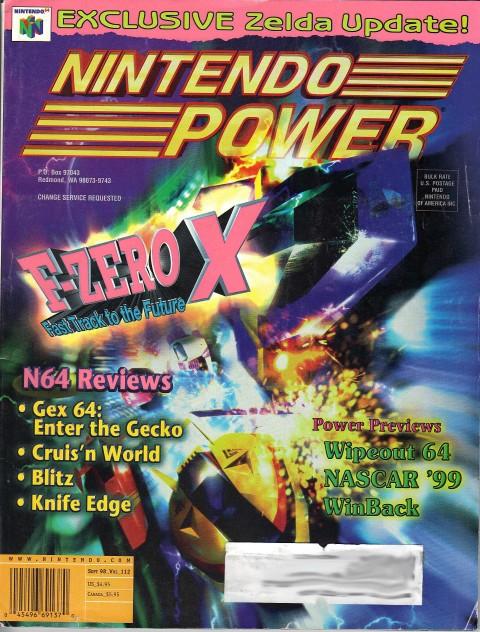 Nintendo Power – Vol. 112