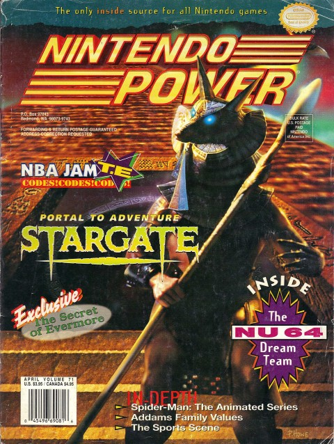 Nintendo Power – Volume 71