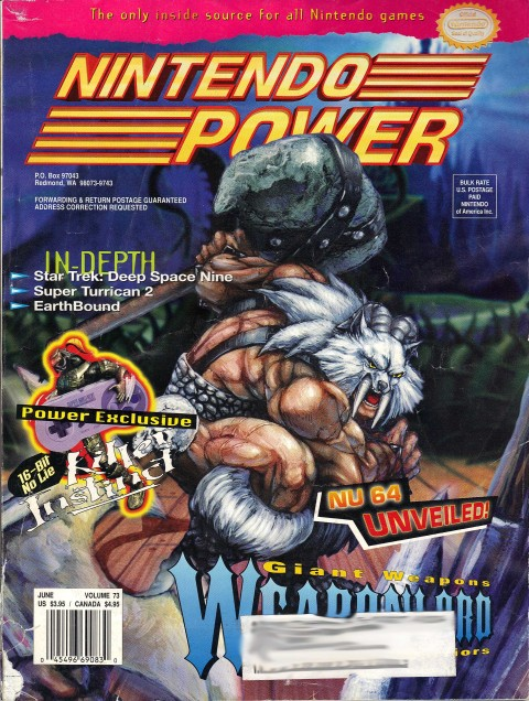 Nintendo Power – Volume 73