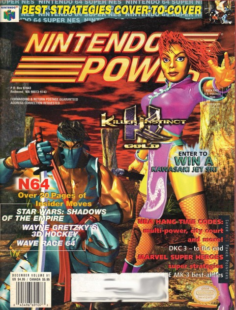 Nintendo Power – Volume 91