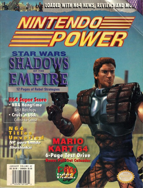 Nintendo Power – Volume 92