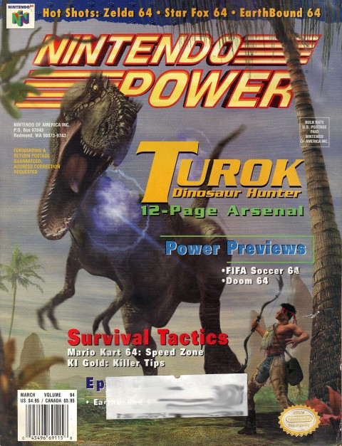 Nintendo Power – Volume 94
