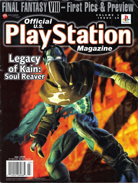 Playstation Magazine – Volume 1 Issue 10