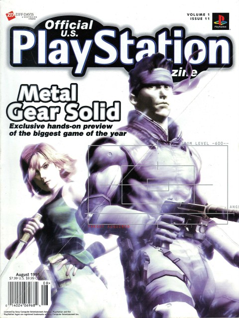 Playstation Magazine – Volume 1 Issue 11