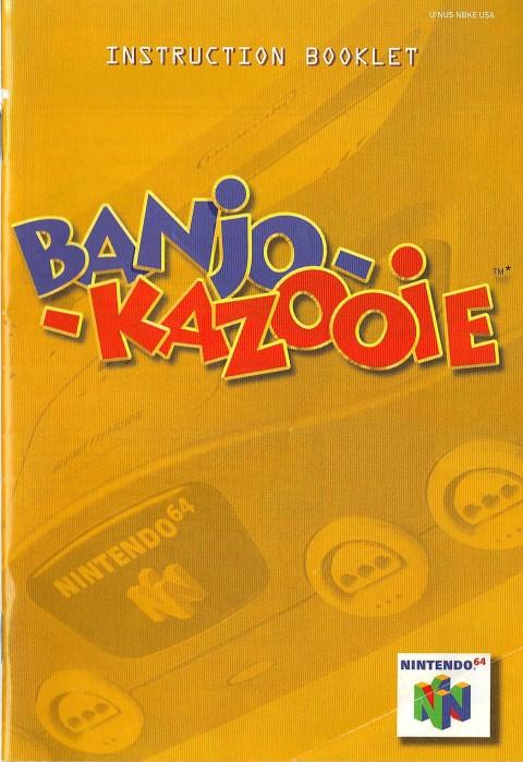 Banjo – Kazooie (Manual)