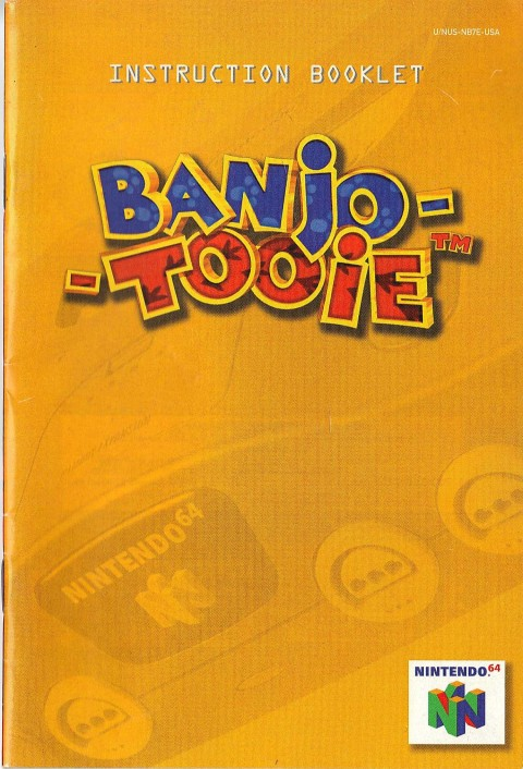 Banjo – Tooie (Manual)