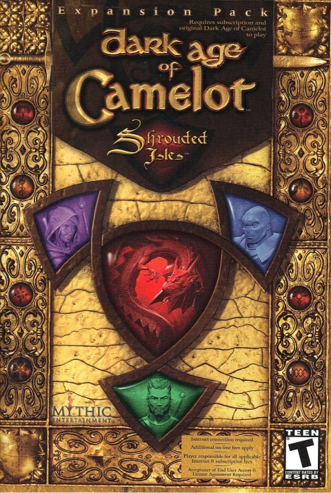 Dark Age of Camelot : Shrouded Isles (Manual)
