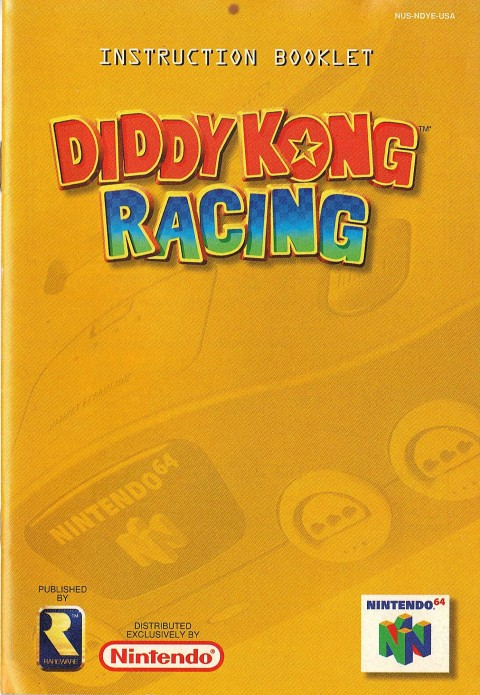 Diddy Kong Racing (Manual)