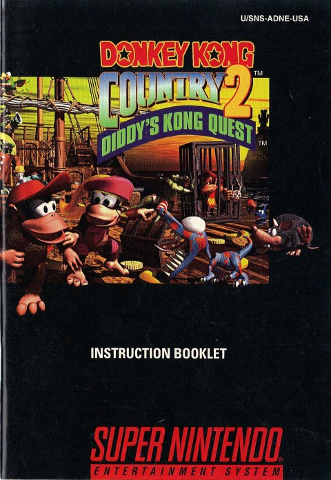 Donkey Kong Country 2 (Manual)