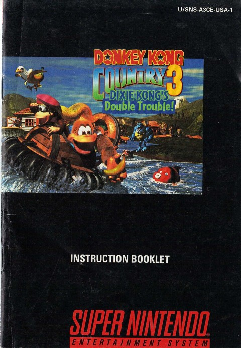 Donkey Kong Country 3 (Manual)