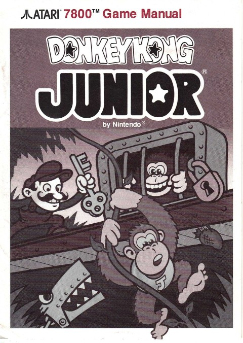 Donkey Kong Junior (Manual)