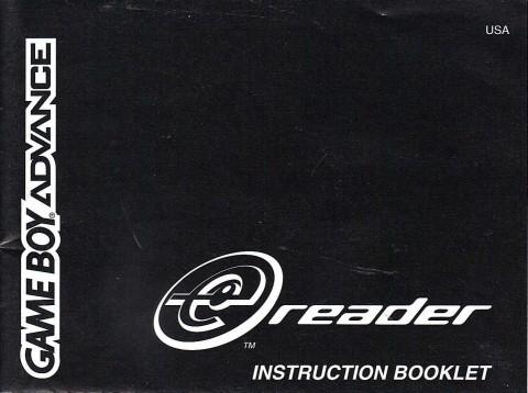 Gameboy Advance – EReader (Manual)