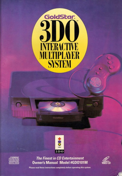 Goldstar 3DO (Manual)