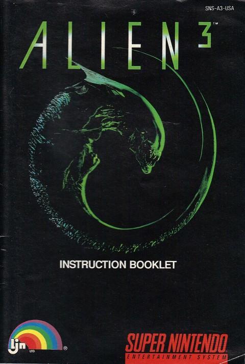Alien 3 (Manual)