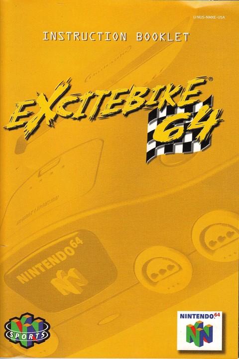 Excitebike 64 (Manual)