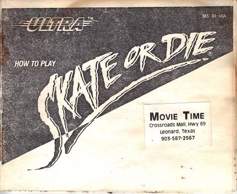 Skate or Die (Manual)