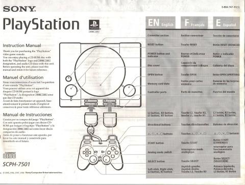 Sony Playstation (Manual)