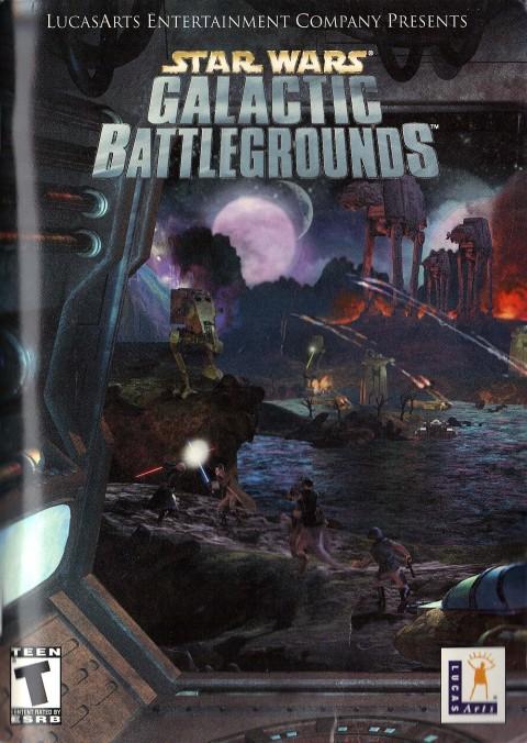 Star Wars – Galactic Battlegrounds (Manual)