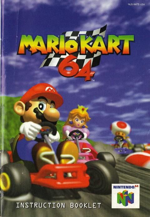 Mario Kart 64 (Manual)