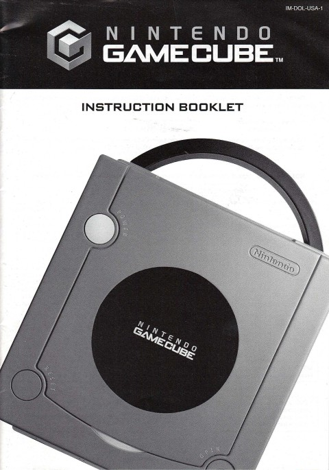 Nintendo Gamecube (Manual)