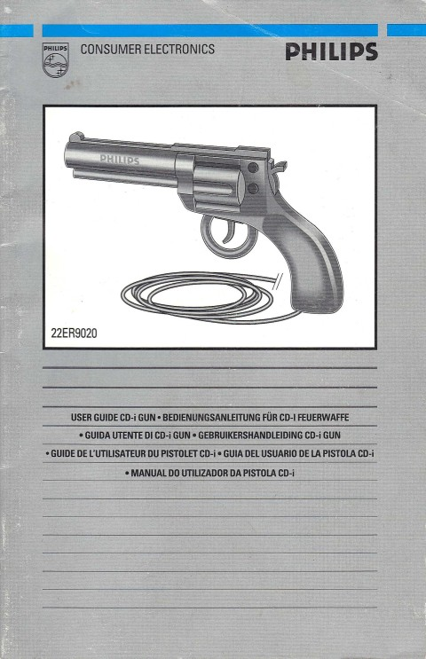 Philips CDi – Light Gun (Manual)