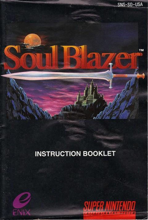 Soul Blazer (Manual)