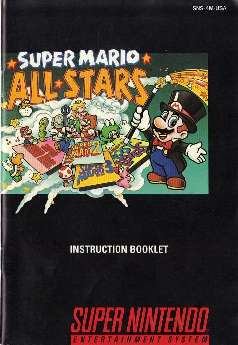 Super Mario Allstars (Manual)