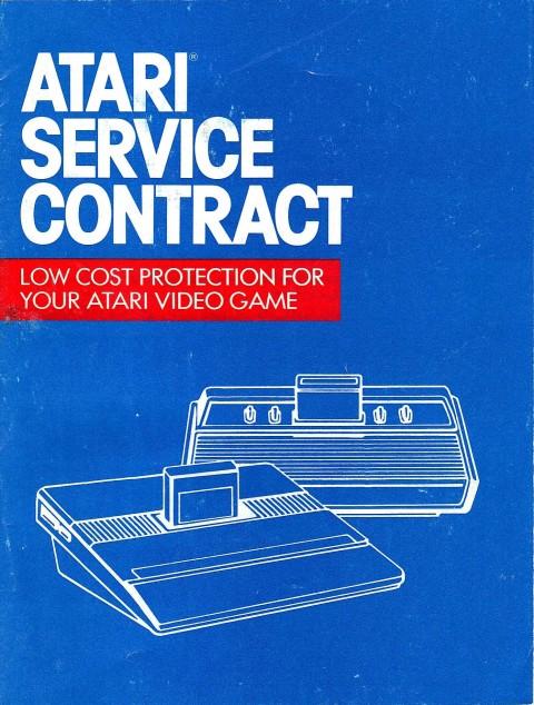 Atari Service Contract
