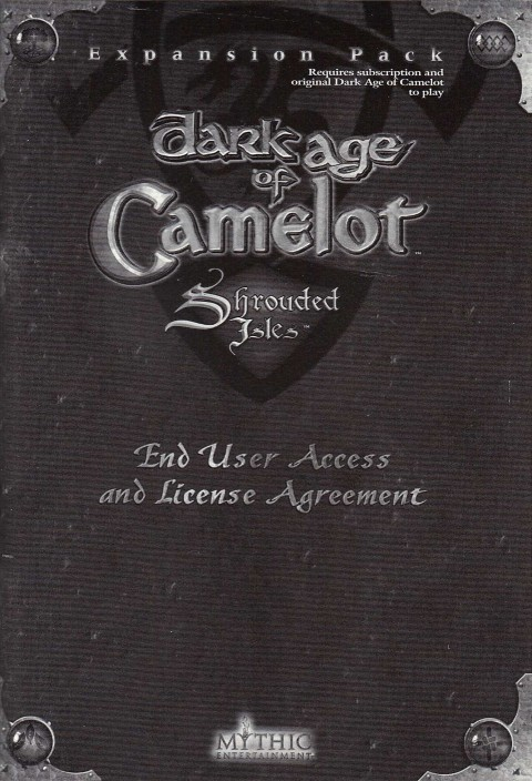 Dark Age of Camelot – EULA