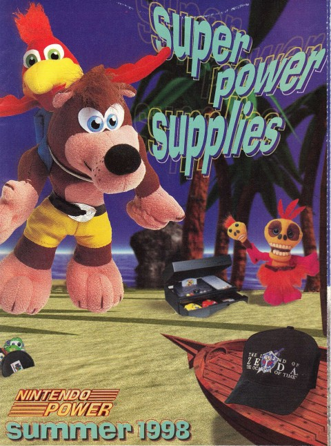 Nintendo Power – Super Power Supplies 1998
