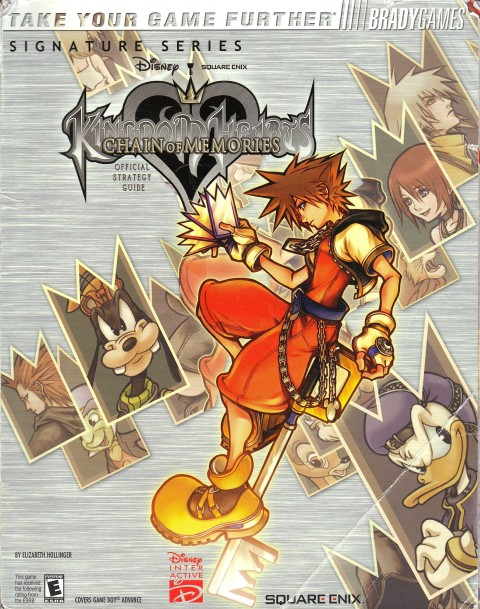 Kingdom Hearts – Chain of Memories (Strategy Guide)