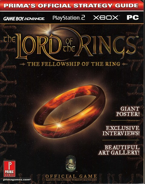 Lord of the Rings – Fellowship of the Ring (Strategy Guide)