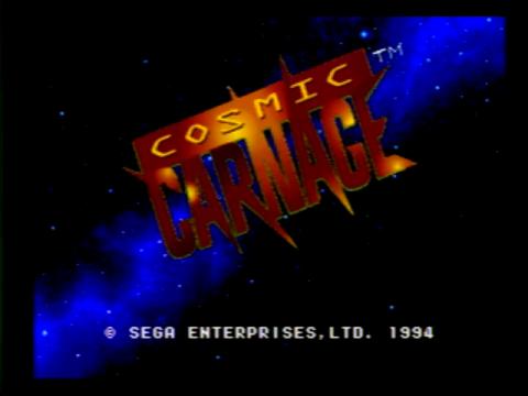 Cosmic Carnage (Sega 32x)