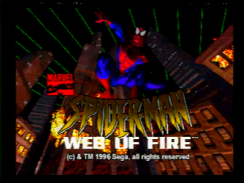 Spiderman – Web of Fire (Sega 32x)