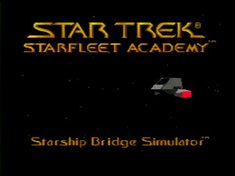 Star Trek – Starfleet Academy (Sega 32x)