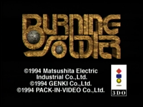 Burning Soldier (3do)