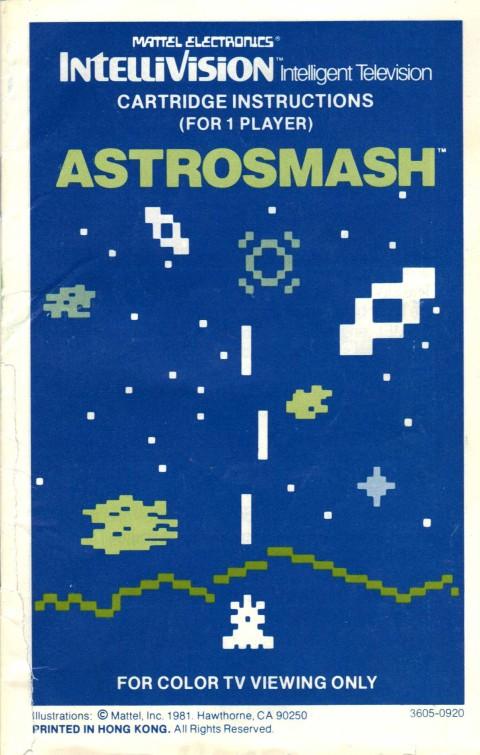 Astrosmash (Manual)