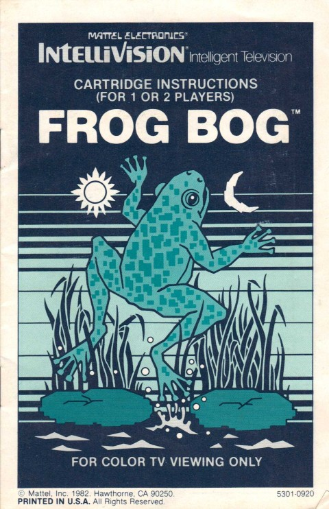 Frog Bog (Manual)
