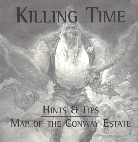 Killing Time – Map of the Conway Estate