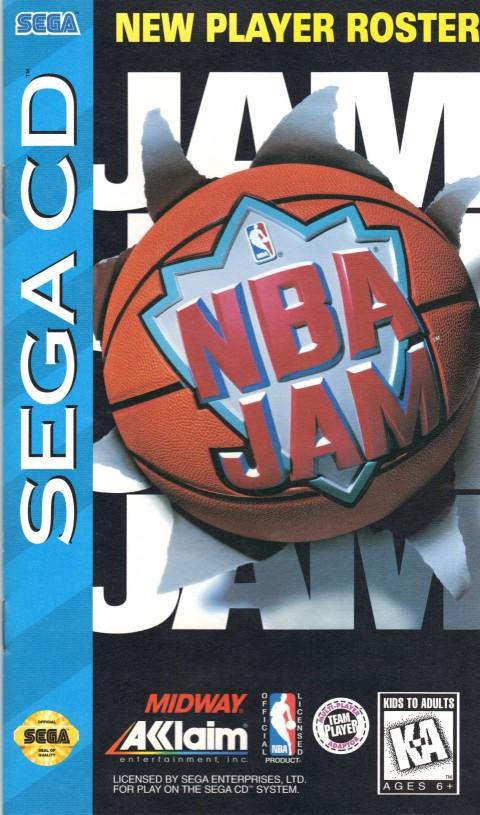 NBA Jam (Sega CD Manual)