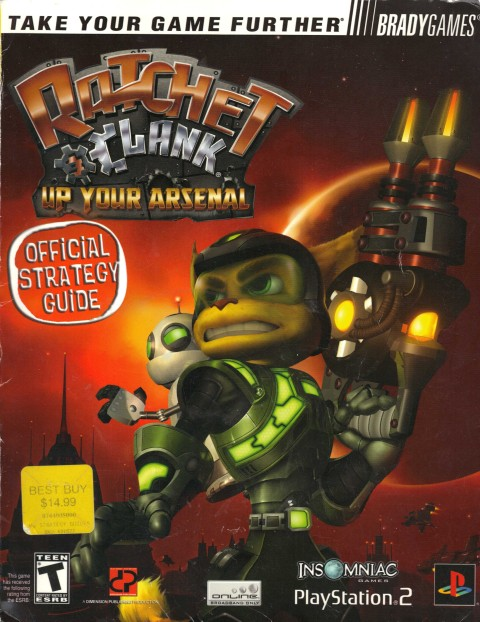 Ratchet and Clank – Up Your Arsenal (Strategy Guide)