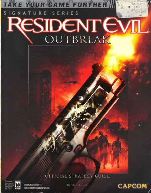 Resident Evil – Outbreak (Strategy Guide)
