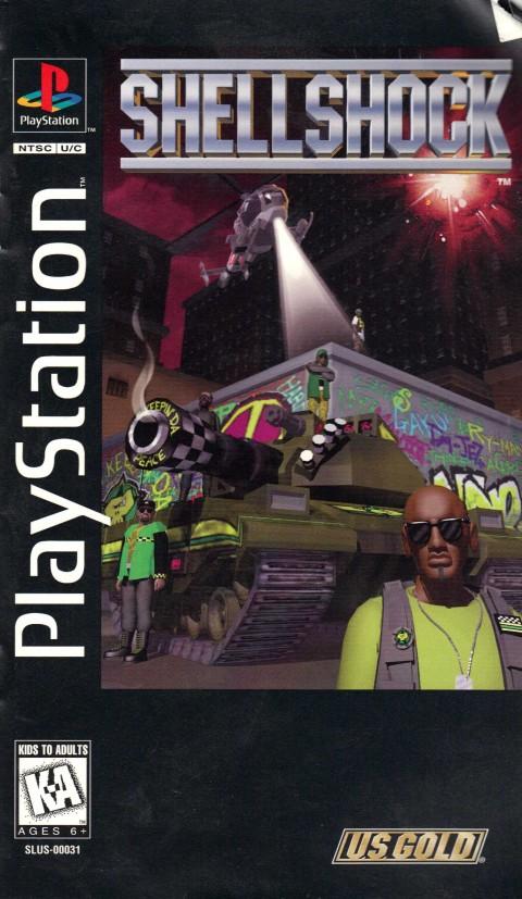 Shellshock (Playstation Manual)