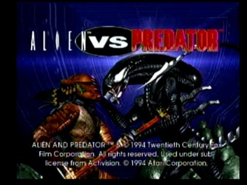 Aliens vs Predator (Atari Jaguar)