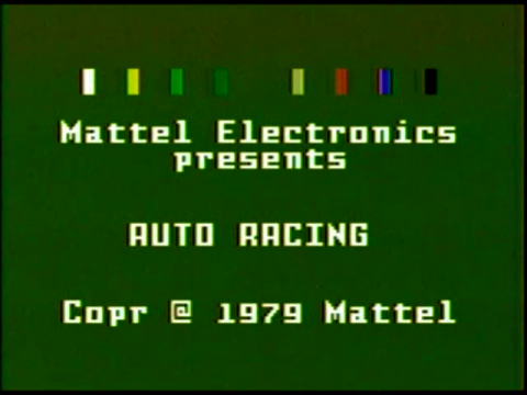 Auto Racing (Intellivision)
